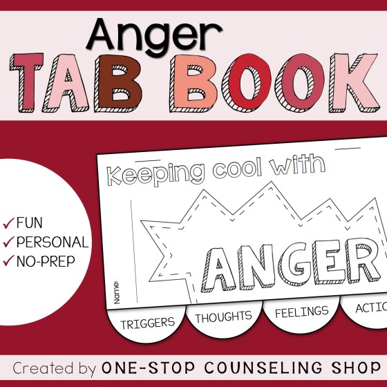 Anger Tab Book