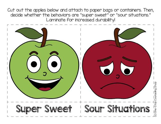 Apple Behavior Activity