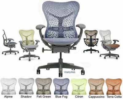 Herman Miller Mirra Home Office Chair Deluxe
