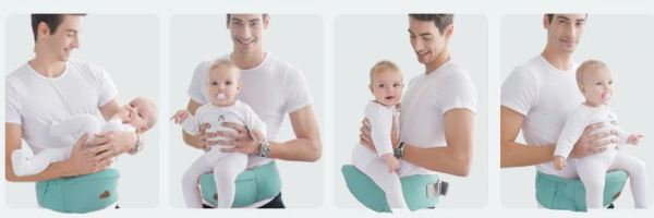 4 of 11 different functions of Baby Carrier
