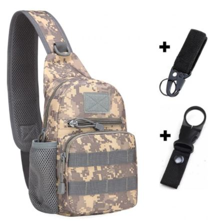 AC Backpack Bag and Hooks