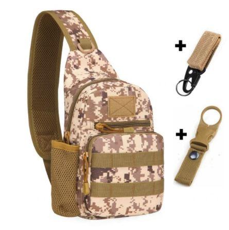 Desert Colored Backpack and Hooks