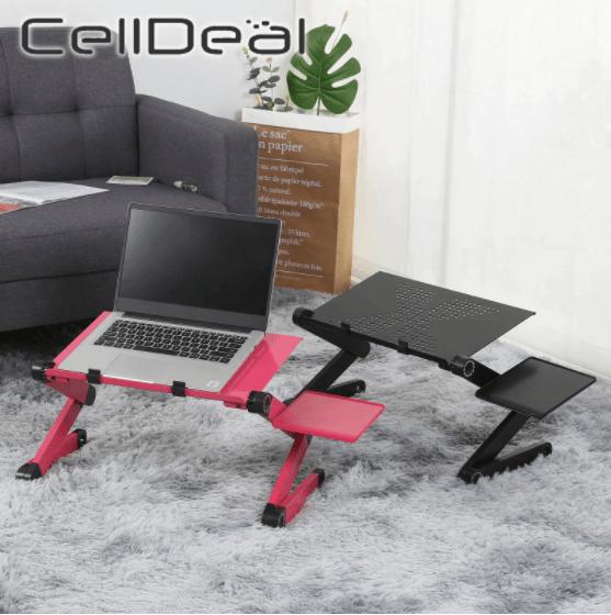 Pink Laptop Computer Desk One Stop Shop Galore