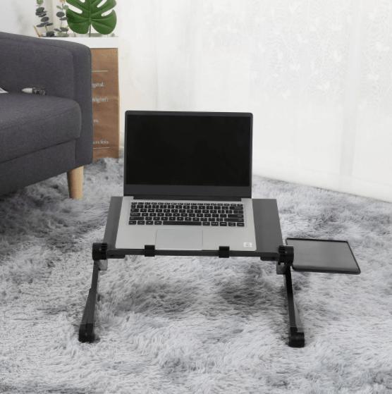 Black Laptop Desk on Floor One Stop Shop Galore