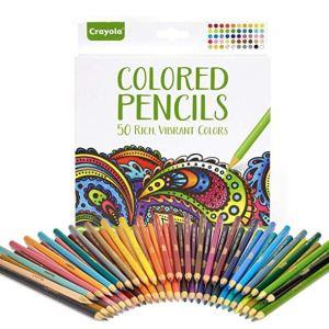 Adult Coloring Pencils 50 Vibrant Colors