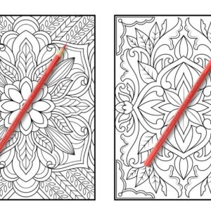 Sample image of page 1 in Adult Coloring Book