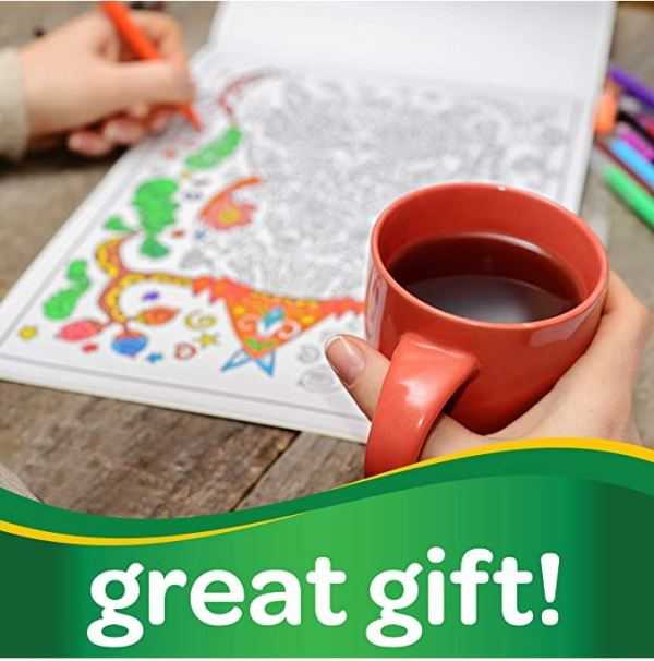 Great Gifts Crayola Markers for Adult Coloring Books