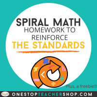 Spiral Math Homework to Reinforce Standards
