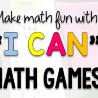 How to Use I CAN Math Games in the Classroom