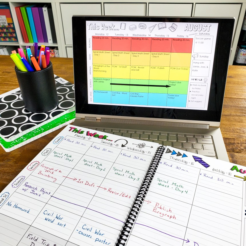 Student Binders are the perfect solution to Student Organization! Use them as Student Agendas, Student Data Binders, Calendars, for Homework Organization and so much more! Learn how to put together the perfect Student Binder!