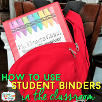 Student Binders: Improve Student Organization