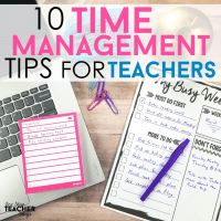 Time Management Tips for Teachers