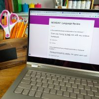 Digital Language Spiral Review: Google Forms