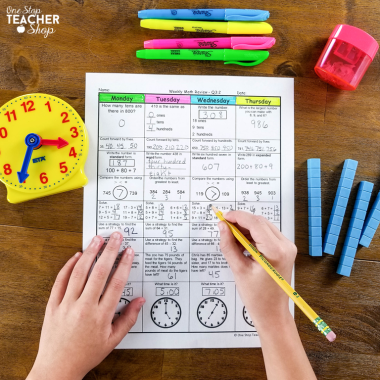 A collection of FREE math resources for teachers! These printable and digital math activities are perfect for spiral review, math centers, distance learning, guided math, and more! Be sure to download them all! Available for Kindergarten, 1st Grade, 2nd Grade, 3rd Grade, 4th Grade, 5th Grade, 6th Grade, 7th Grade, 8th Grade, and High School!