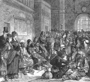 Пленные турки, 1878 г.