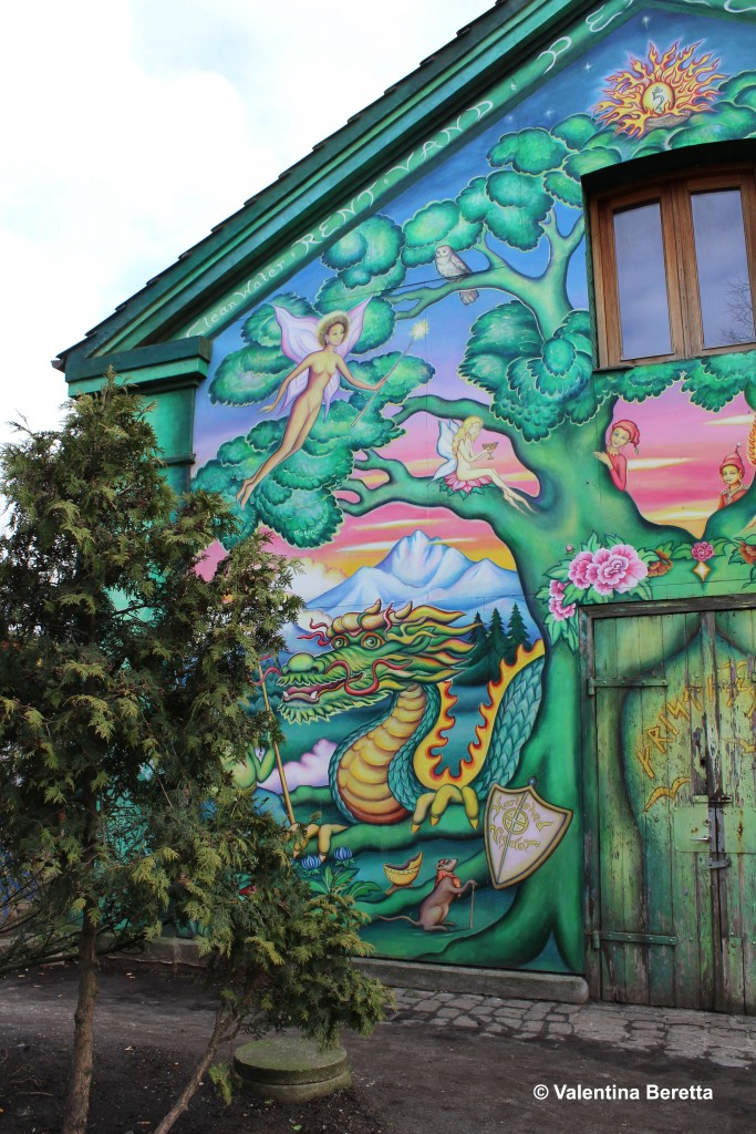 christiania casa colorata