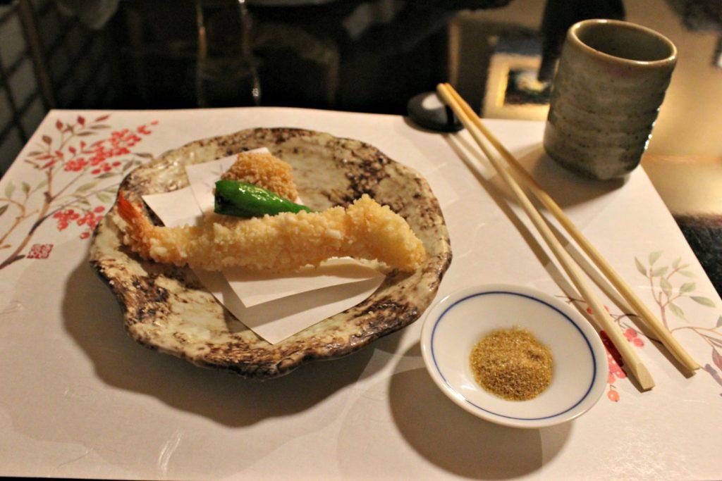 tempura cucina kaiseki