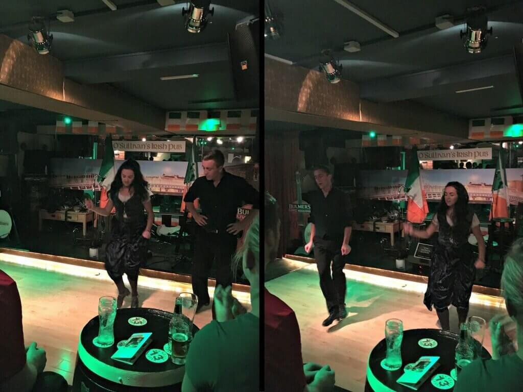 spettacolo danze irlandesi osullivan