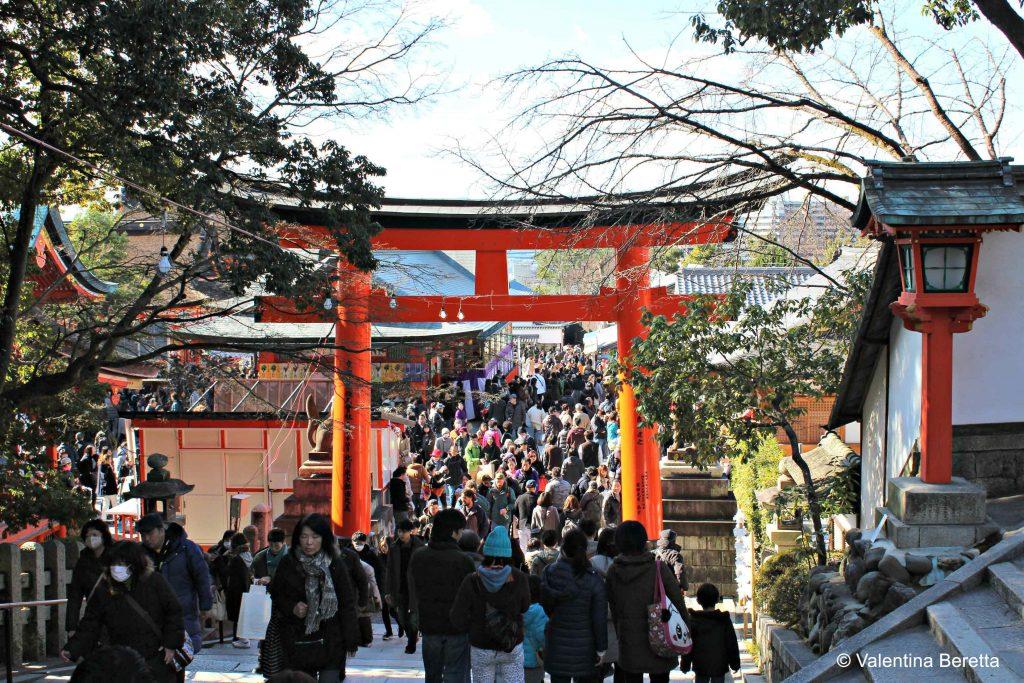 entrata fushimi inari