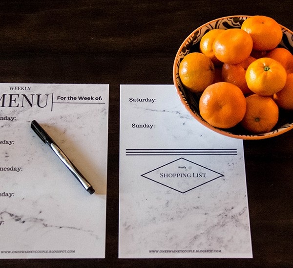 Get Organized: Meal Planner