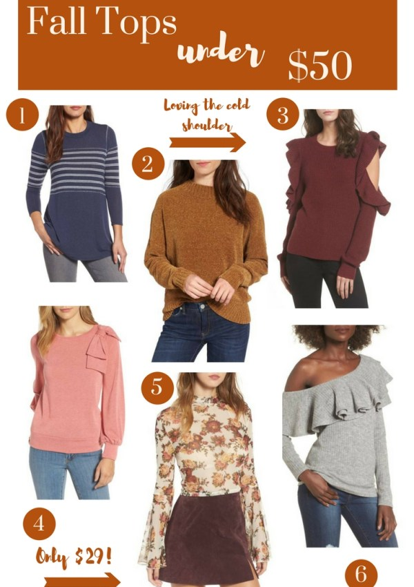 Budget Friendly Fall Tops