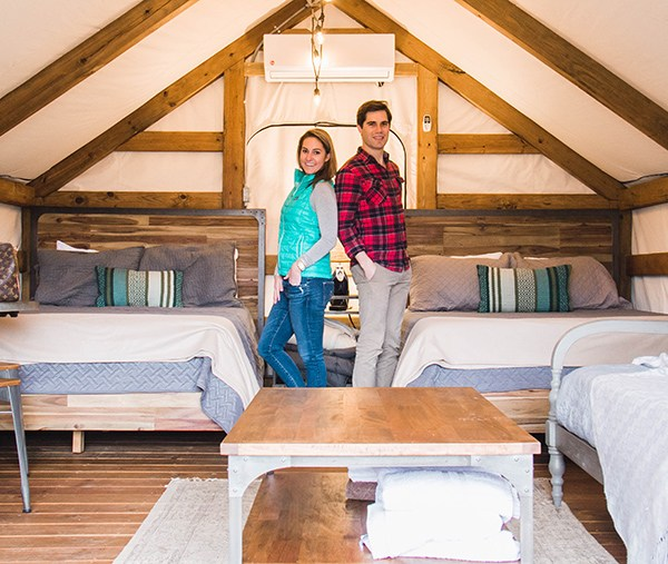 Glamping For Two In Texas