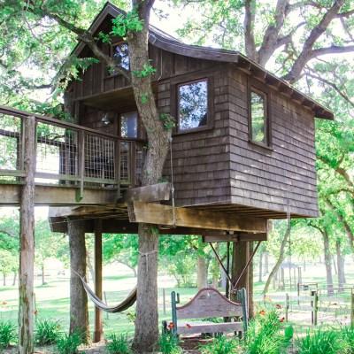 Texas Treehouse Getaway: Part I