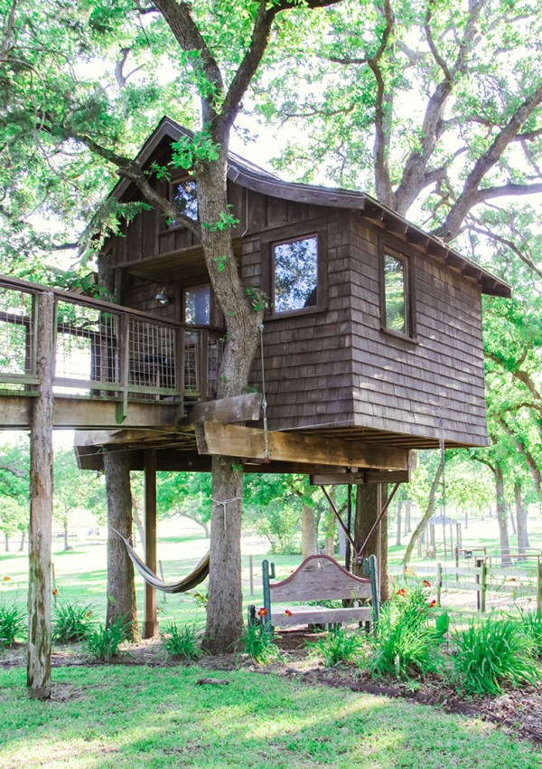 Texas Treehouse Getaway: Part I
