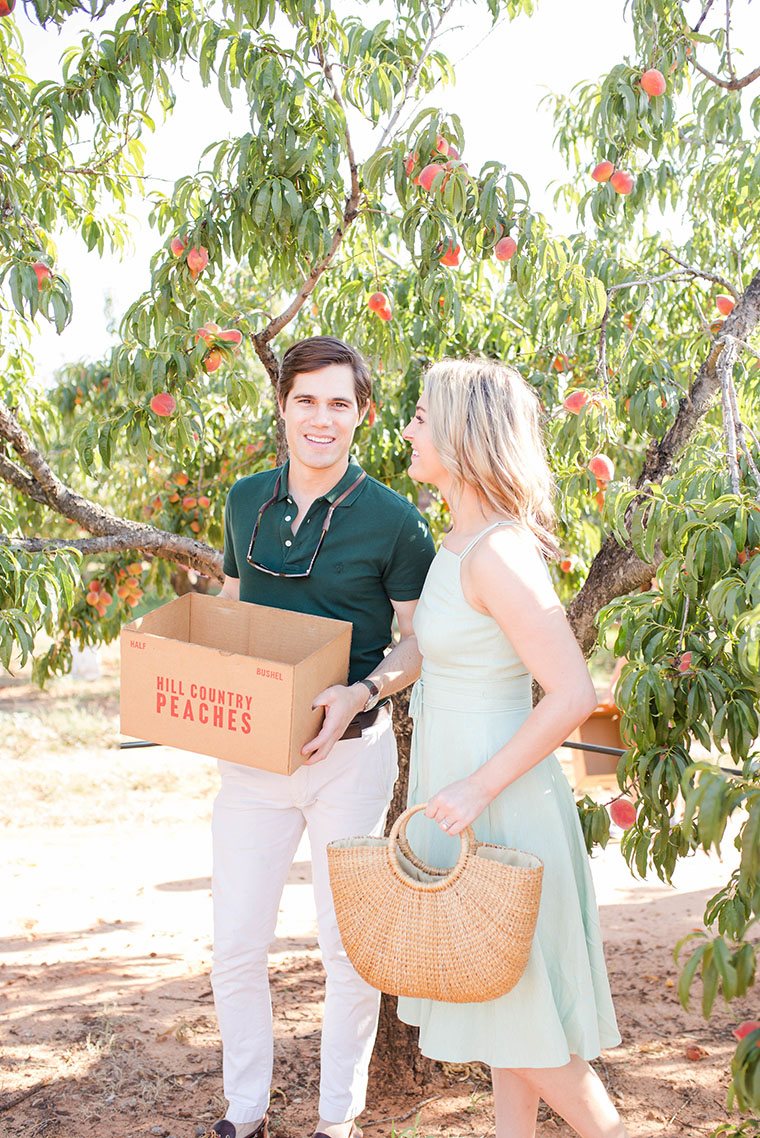 Peach Picking In Fredericksburg 6