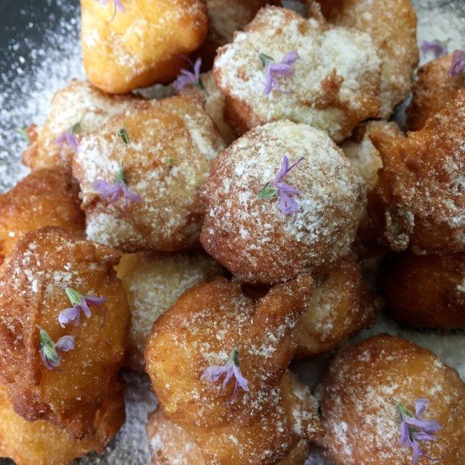 Lemon Ricotta Doughnuts by Bri DiMattina | onetakekate.com