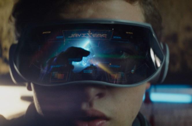 Tye Sheridan stars in Steven Spielberg instant classic Ready Player One. Image via Roadshow Films | onetakekate.com