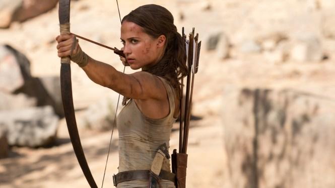 Alicia Vikander stars in Tomb Raider. Image via variety.com | onetakekate.com