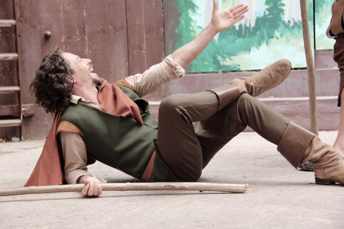 Anton Weber, Robin Hood, Freilicht Theater, Horst Gurski, sommer Theater,