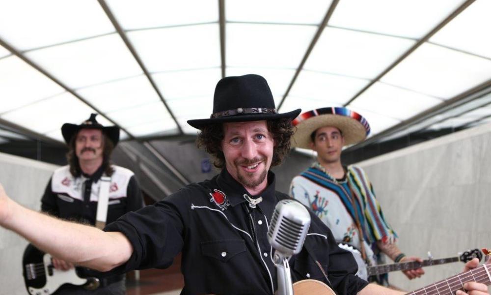 Drei Türken Cowboy Szenen (ihr Lutschis)