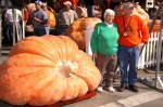 Dr. and Mrs. Bob Liggitt with Champion Pumpkin in 2009