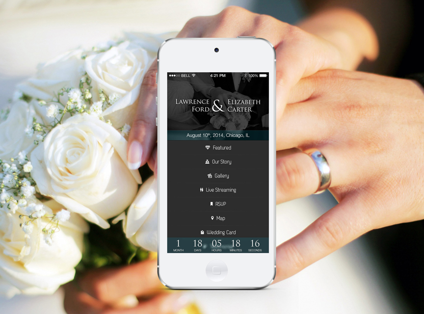 Android iphone wedding planning app one team us llc wedding app junglespirit Choice Image