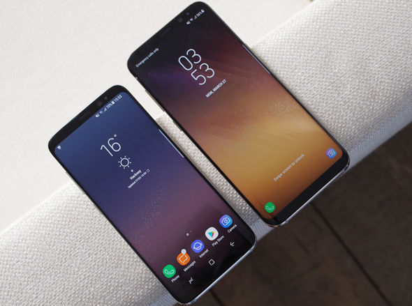 Galaxy S8, Galaxy S8 and S8 Plus
