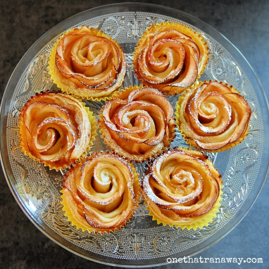 puff pastry apple roses