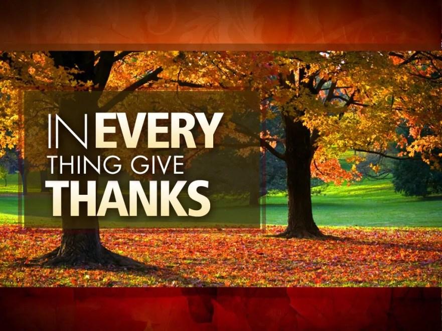 Thanksgiving | Gratitude | Missing