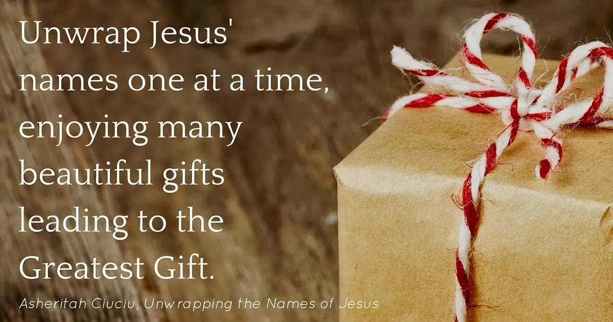Unwrapping the names of jesus an advent devotional one thing alone unwrappingjesus8 unwrappingjesus7 unwrappingjesus6 unwrappingjesus5 unwrappingjesus4 unwrappingjesus3 unwrappingjesus2 unwrappingjesus1 negle Gallery