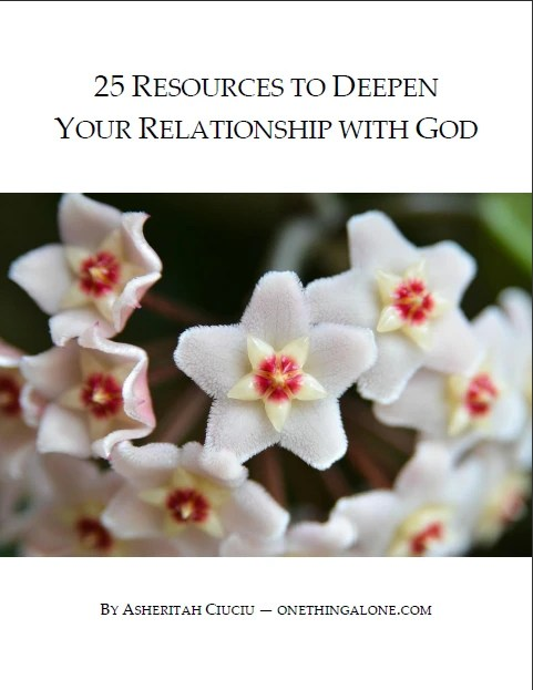 25 Resources to Deepen Your Relationship with God