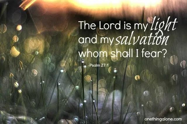 lord is my light  trust