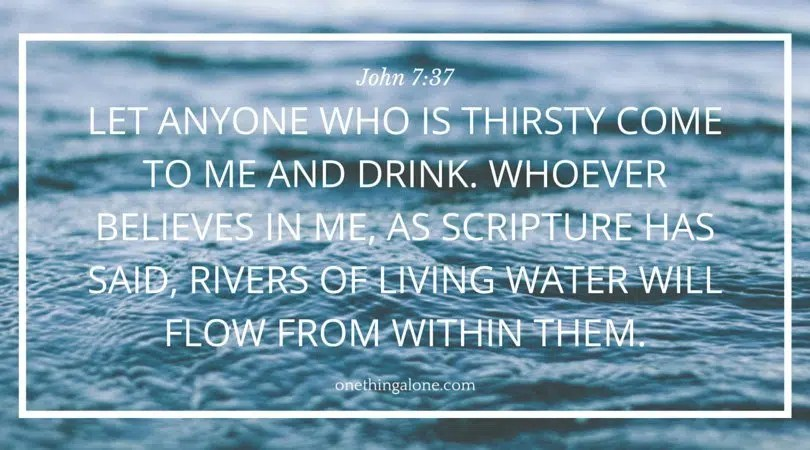 all who are thirsty pdf