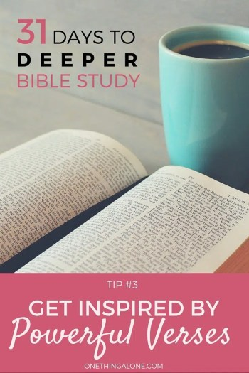 Get inspired to read more Scripture with these inspirational Bible verses
