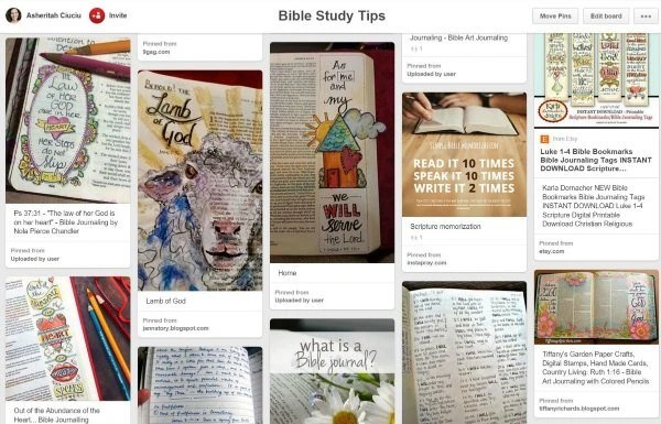 pinterest bible study