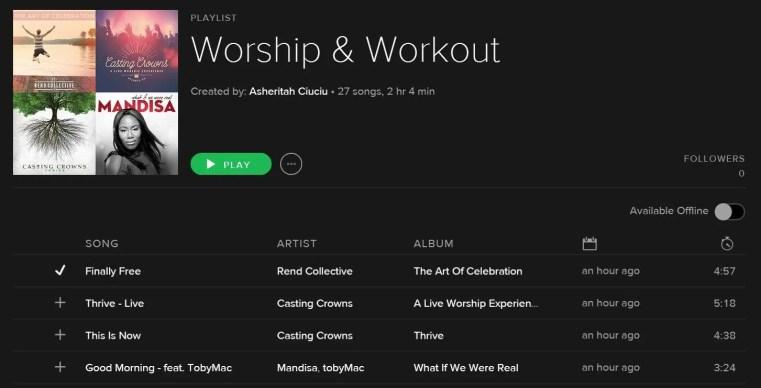 worship & workout