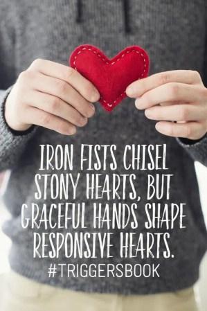 triggers responsive hearts