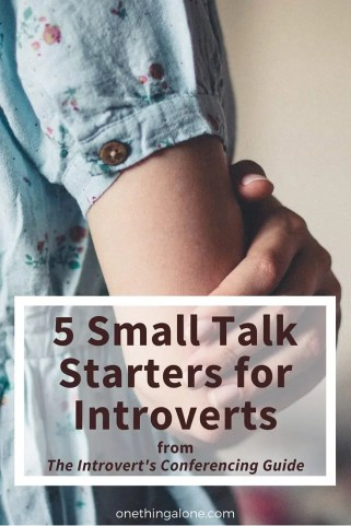 5 small talk starters for introverts