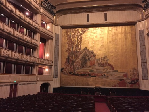 3 days in Viena state opera house