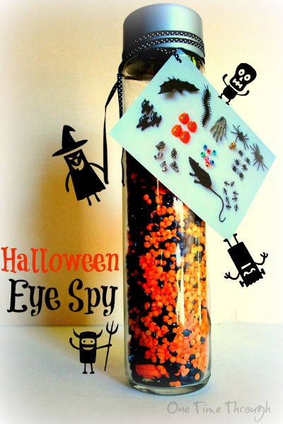 Halloween I Spy Bottle